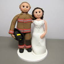fireman cake topper fireman and wedding cake topper a photo on flickriver