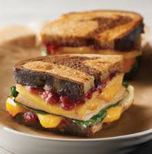 cranberry and chicken gouda melts hy vee