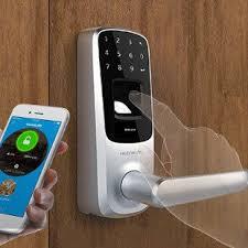review ultraloq ul3 bt fingerprint touchscreen smart lock satin