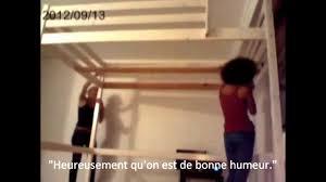 Loft Bed Espace Loggia Le Montage D U0027une Mezzanine Selon Anna Et Claire Youtube