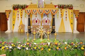 indian wedding stage decorations house decoration ideas