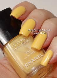 marias nail art and polish blog chanel l a sunrise 287 robertson