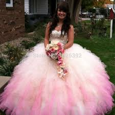 sale pink strapless crystals ball gowns quinceanera dress