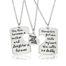 s day jewelry gifts 3pc set pendant necklace best gift fashion
