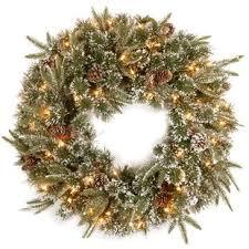 pre lit wreath pre lit wreaths you ll wayfair