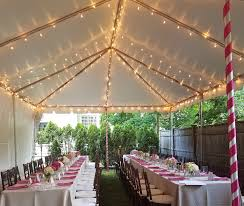 Poles For String Lights by Lighting Atent For Rent