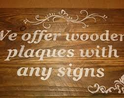 Personalized Home Decor Signs Custom Wood Signs Etsy