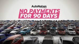 autonation toyota autonation announces no payments for 90 days youtube