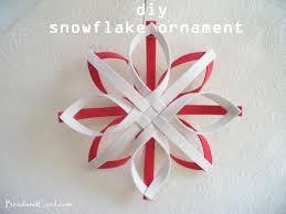 diy christmas ornament snowflake ornament createsie