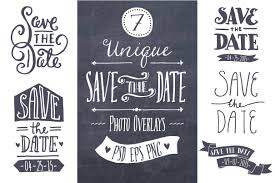 Savethedate Save The Date Overlays Graphics Creative Market