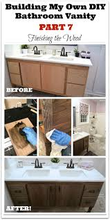 bathroom make vanity diy bathroom cabinet diy sink vanity oak