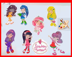 strawberry shortcake coloring pages colouring book youtube