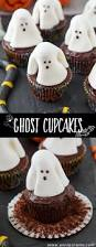 ghost cupcakes fun halloween recette