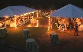 outdoor tent wedding lighting for an outdoor reception no tent no trees weddingbee