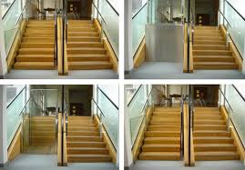 Retractable Stairs Design Retractable Stairs Open To Reveal Secret Wheelchair Lifts