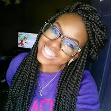 expression braids hairstyles 65 box braids hairstyles for black women inside large box braids