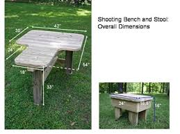 Portable Shooting Bench Building Plans Built My Own Shooting Bench Pictures