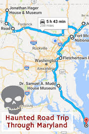 Gunpowder Falls State Park Map by This Haunted Road Trip Will Lead You To The Scariest Places In