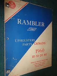 Upholstery Parts 28 1960 Amc Rambler Repair Manual 27788 1960 Rambler Swiss