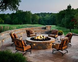 How To Make A Campfire In Your Backyard Designing A Patio Around A Fire Pit Diy