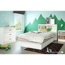 south shore smart basics open shelf nightstand multiple finishes