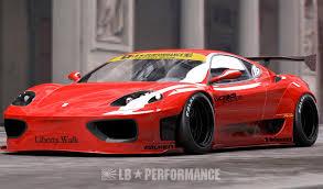 Ferrari 458 Body Kit - liberty walk releases body kit for ferrari 360 and f430 ferrari