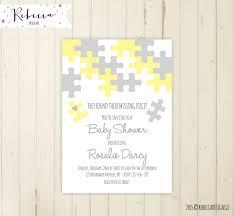 coed baby shower invitation neutral baby shower invitation
