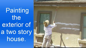 how to paint a house exterior painting exterior of a two story house youtube
