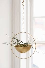 urban outfitters knockoff hanging gold planter eos planters