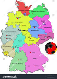 Hamburg Germany Map by Germany Football Map Illustration Stock Vector 68362891 Shutterstock