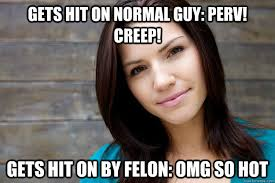 Hot Convict Meme - gets hit on normal guy perv creep gets hit on by felon omg so