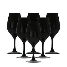 bicchieri bianchi e neri calici vino neri al miglior prezzo garantito o rimborsato
