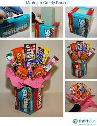 making a candy bouquet candy bouquet gift and craft