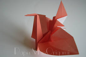origami napkin folding the crown paper napkin origami paper