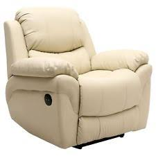 faux leather recliner chair ebay