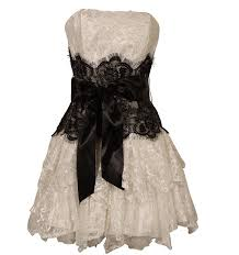 cheap short black and white prom dresses lace prom dress 2017