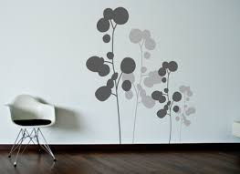 modern floral wallpaper floral contemporary wall decals modern contemporary wall decals