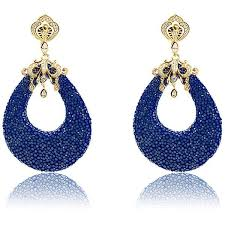 royal blue earrings 20 best blue earrings images on blue earrings royal