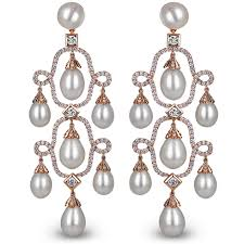 and pearl chandelier earrings pearl chandelier earrings jacob co timepieces