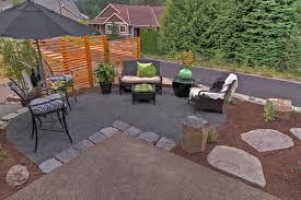 Landscape Patio Ideas Marvelous Steps To Build A Gravel Patio U2014 All Home Design Ideas