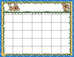 preschool calendar template great printable calendars