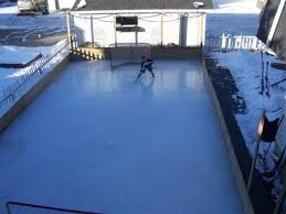 Backyard Rink Ideas Backyard Skating Rink Home Design And Idea