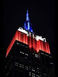 empire state building lights tonight january 5 2014 fox original series empire lights up the empire