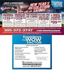 lexus certified specials lexus of north miami u2013 lexus news and offers