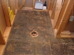 Installing Basement Shower Drain by Fun Basement Shower Installing In Basements Ideas