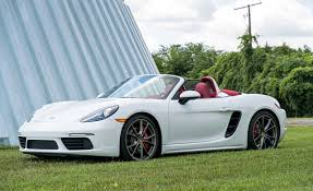 boxster porsche 2017 photos porsche 2017 718 boxster s convertible white cars