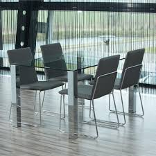 kante 140cm table and 4 kitos dining chairs grey dining table