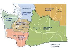 enumclaw wa map dnr regions and districts wa dnr