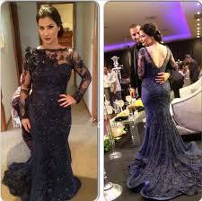 one shoulder prom dresses lace evening dress chiffon prom dress