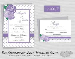 Backyard Wedding Invitations Rustic Floral Wedding Invitation Printable Country Wedding